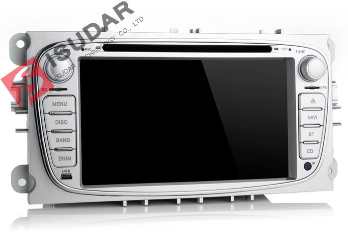 Silver 2 Din Car Dvd Player Ford Mondeo Head Unit With 3G Back - Up Camera