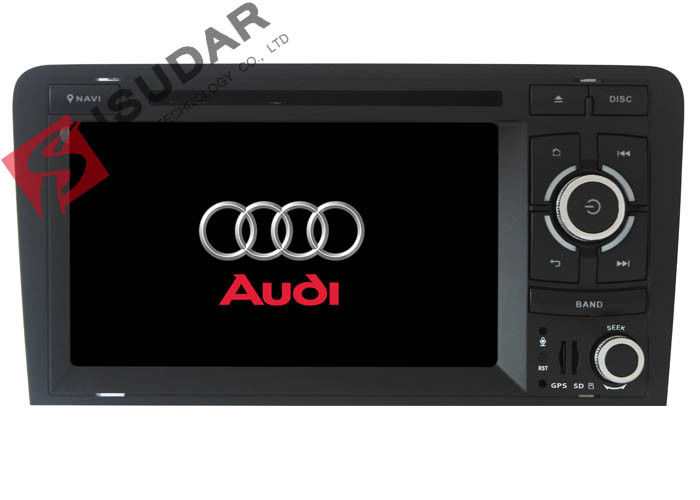 TPMS Support 2 Din Car Dvd Player Audi A3 Head Unit Wifi GPS Radio 16G ROM