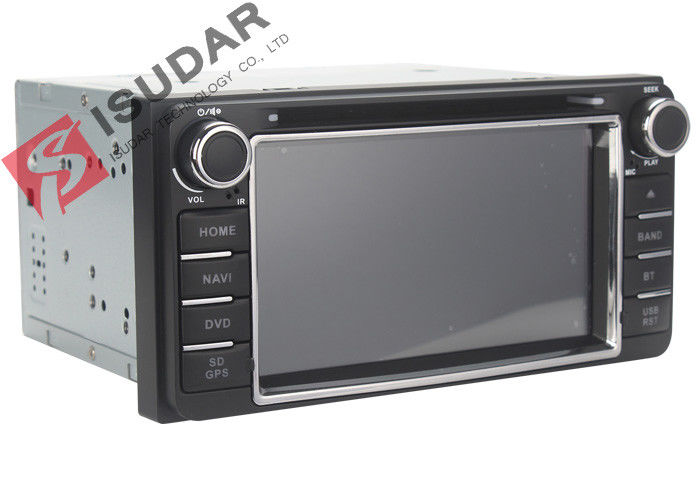 6.2 Inch Digital Touch Screen Toyota DVD GPS Navigator Car Dvd Player Radio IPod
