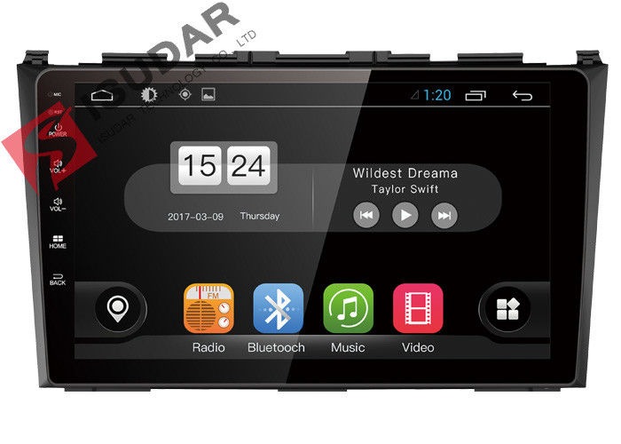 Wireless Android Car Navigation System 2009 - 2011 Honda Crv Sat Nav Replacement